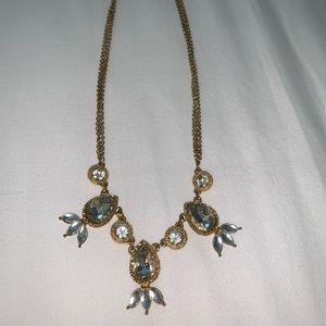 Jewelry - Chunky gold and silver double chain necklace